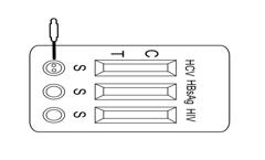 Rapid Diagnostic Test Illustration